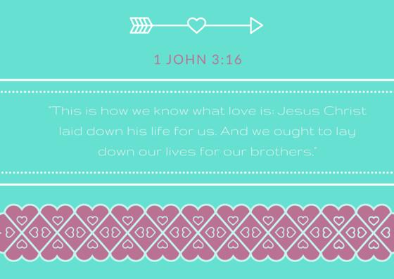 1 John 3-16