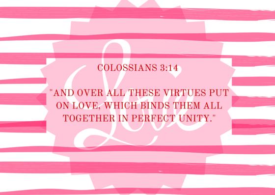 Colossians 3 14