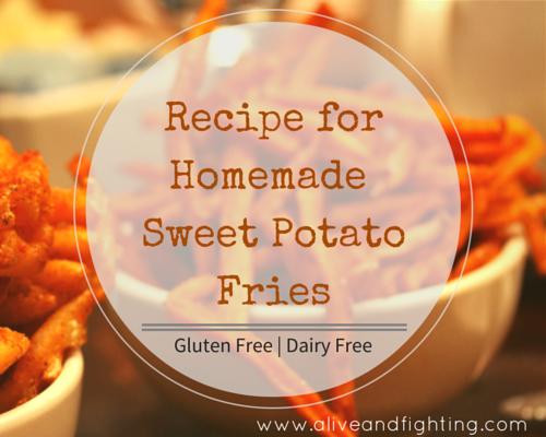 Recipe for Homemade Sweet Potato Fries
