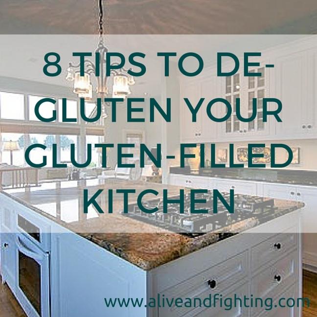 8 Tips to De-Gluten Your Gluten-Filled Kitchen
