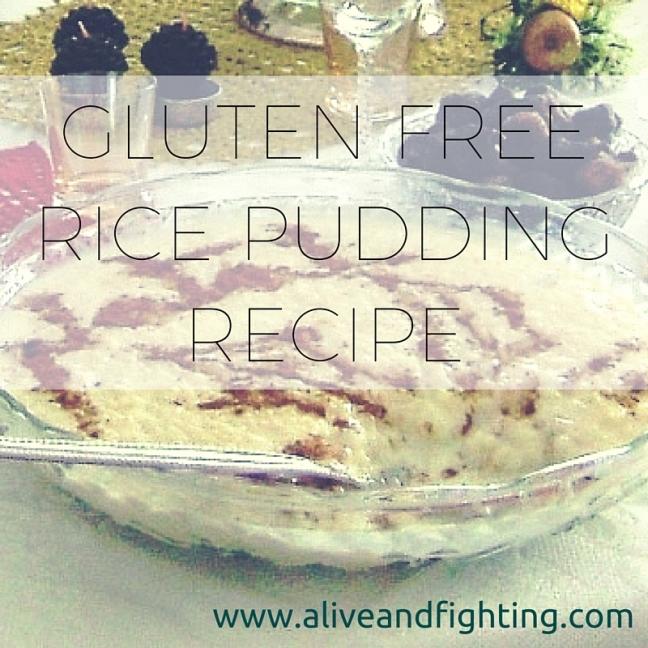 Gluten Free Rice Pudding Recipe