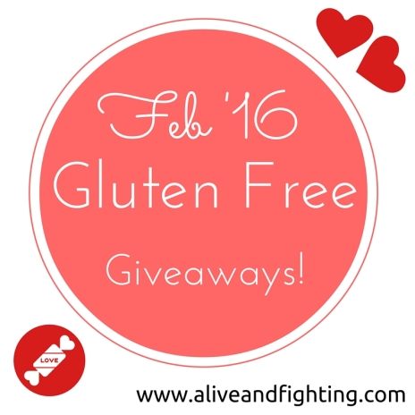 February 2016 Gluten Free Facebook Giveaways